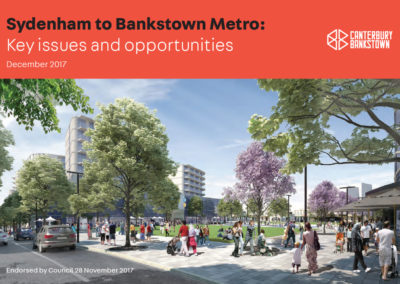 Sydenham to Bankstown Metro Submission